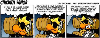 Bad flight planning