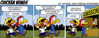 Chicken Wings Classic – Going to an airshow