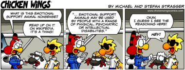 Emotional support animal II