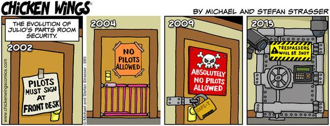 Julios parts room security