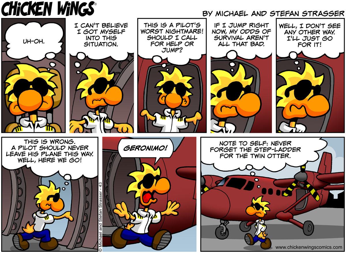 A pilot's worst nightmare