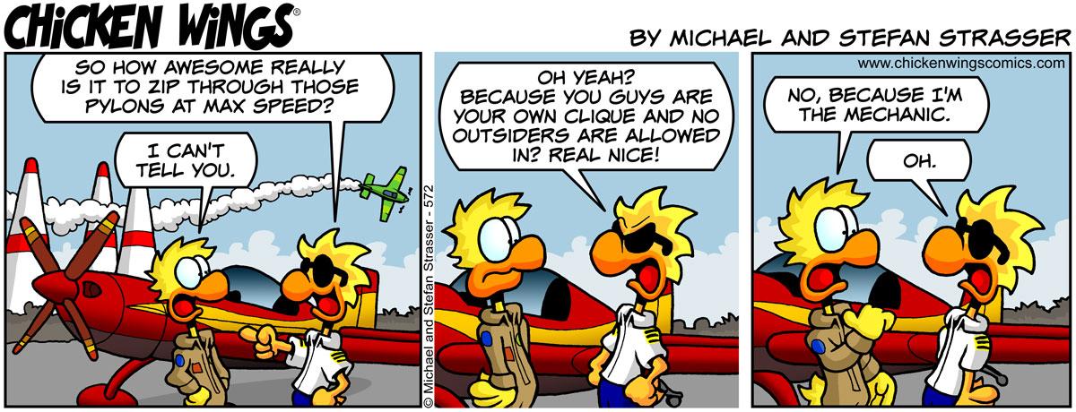 Air race secrets