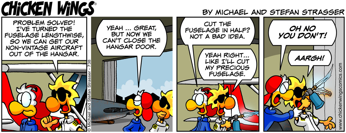 Corsair fuselage problem solved