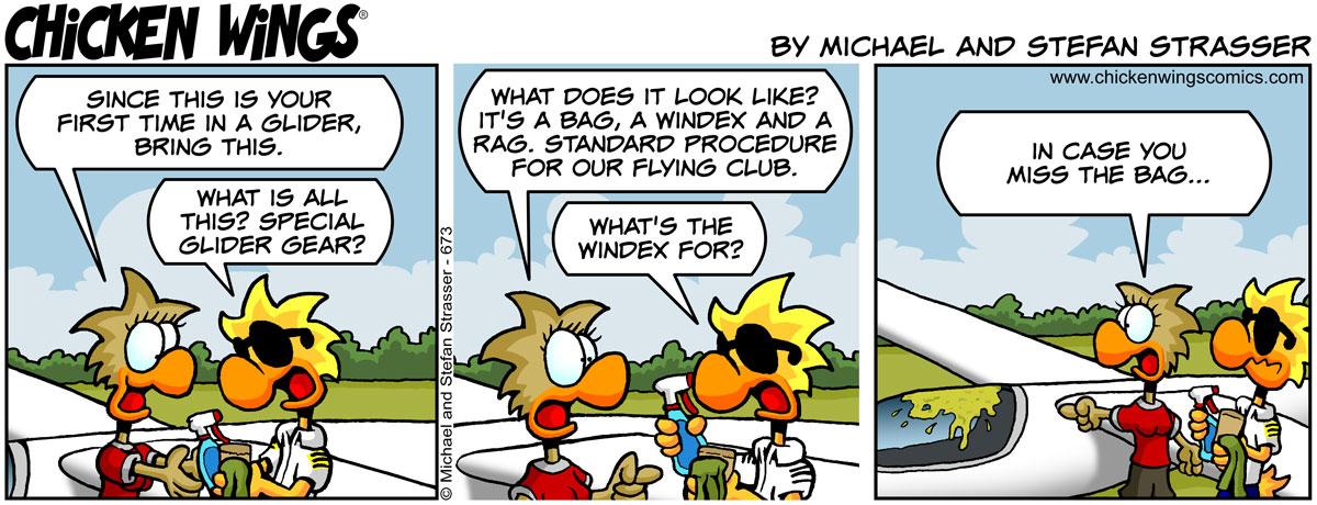 Special glider gear