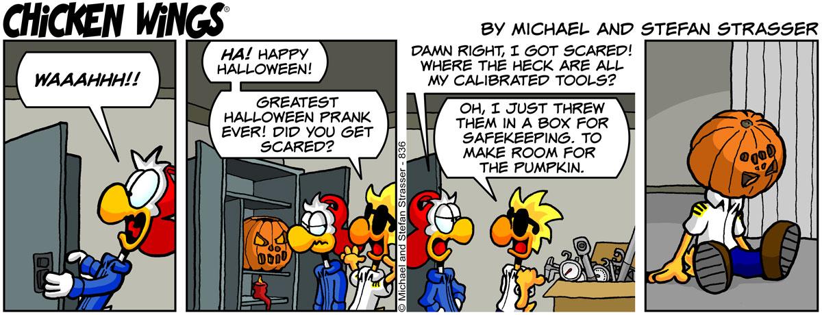 Halloween prank