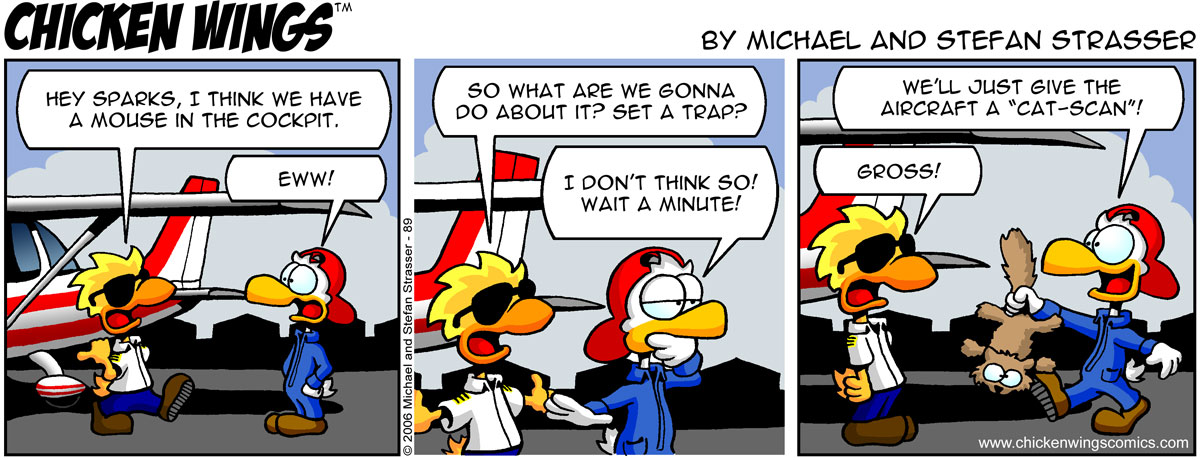 Chicken Wings Classic – Mouse in the cockpit