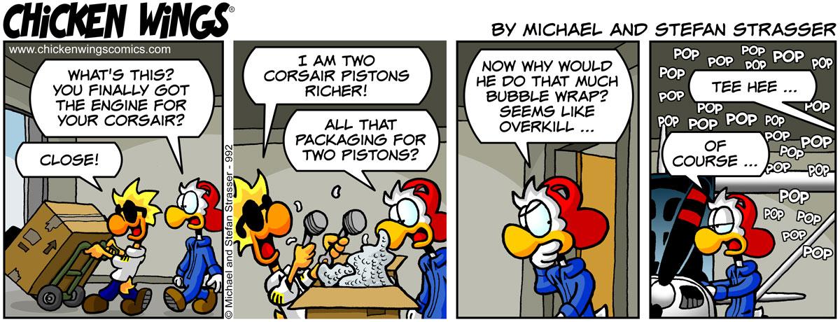 Corsair pistons