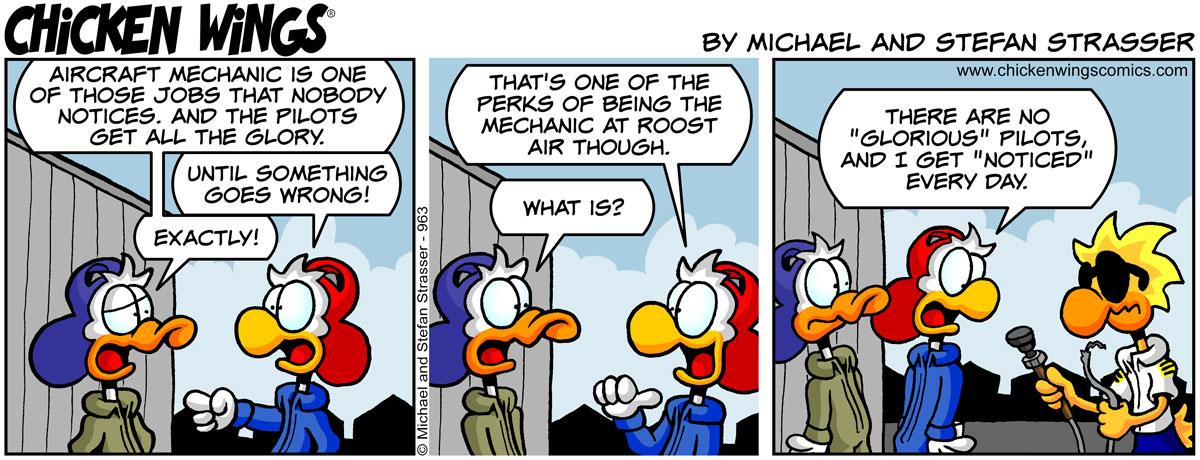 Nobody notices aircraft mechanics