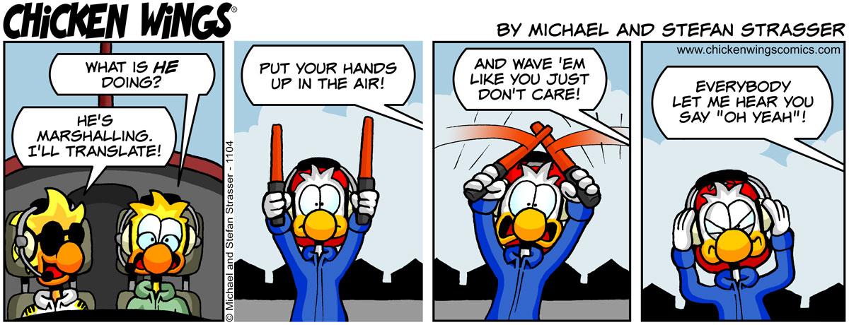 Marshalling signals
