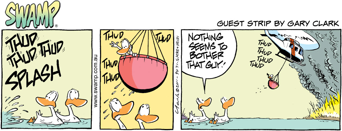 The Swamp – Guest strip by Gary Clark