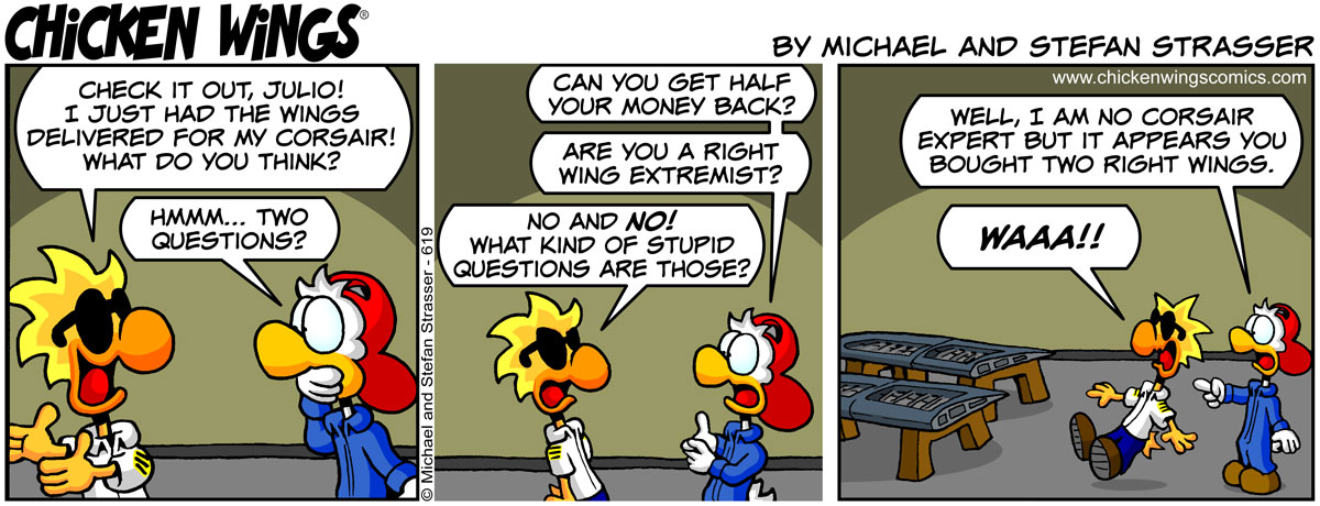 Chuck, the right wing extremist