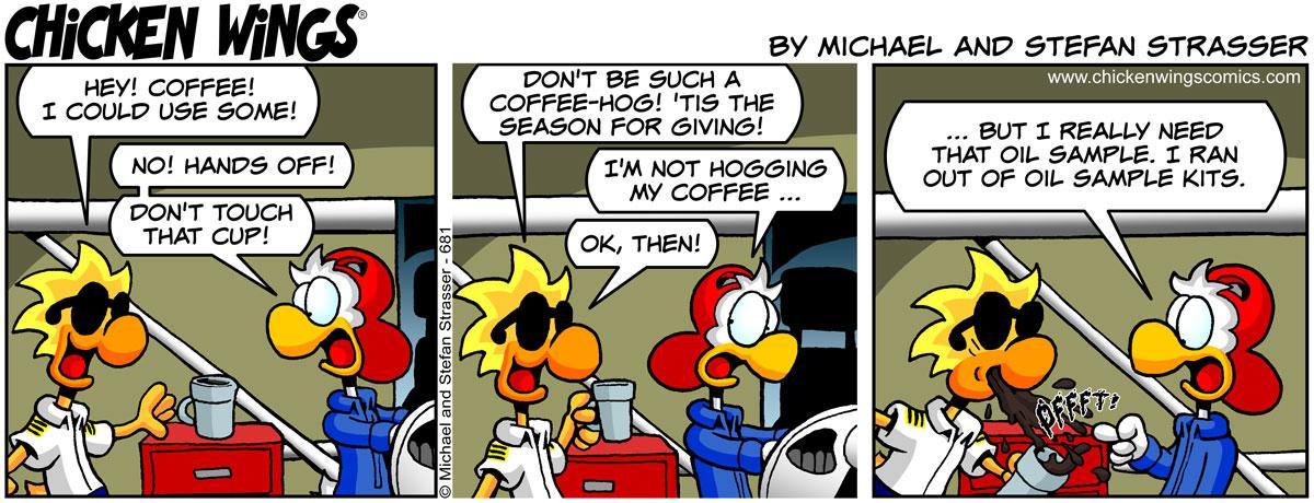 Coffee hog