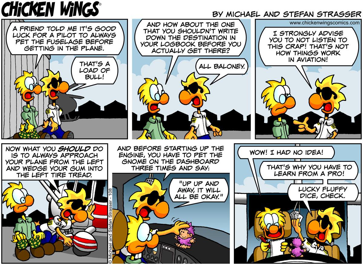 Pilot superstitions