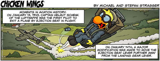 First ejection seat exit