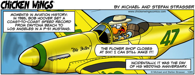 Bob Hoover's speed record