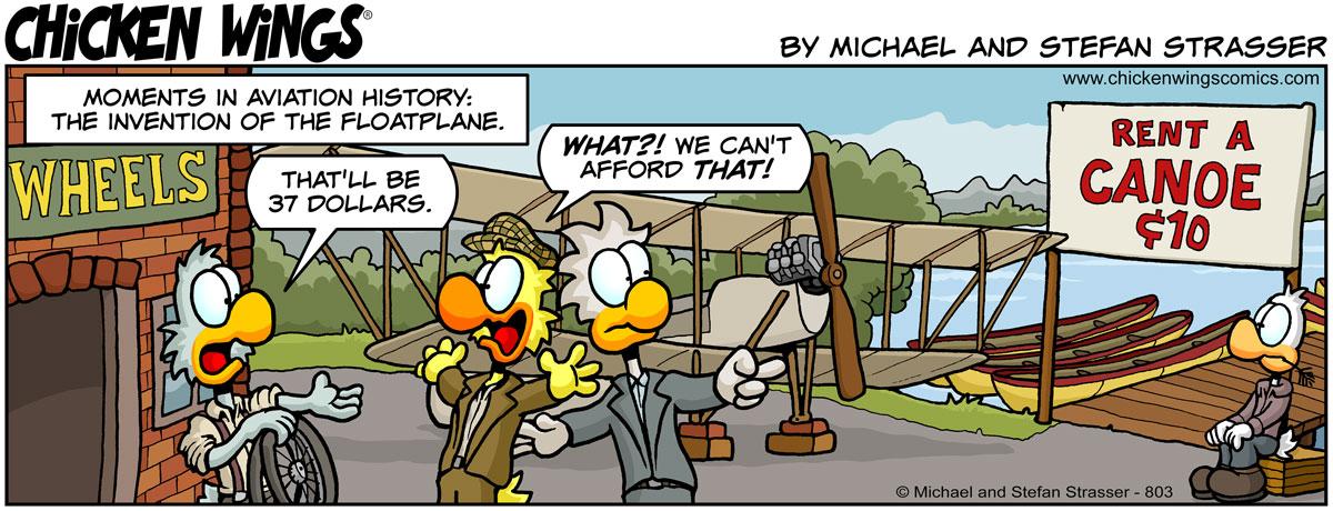 Invention of the floatplane