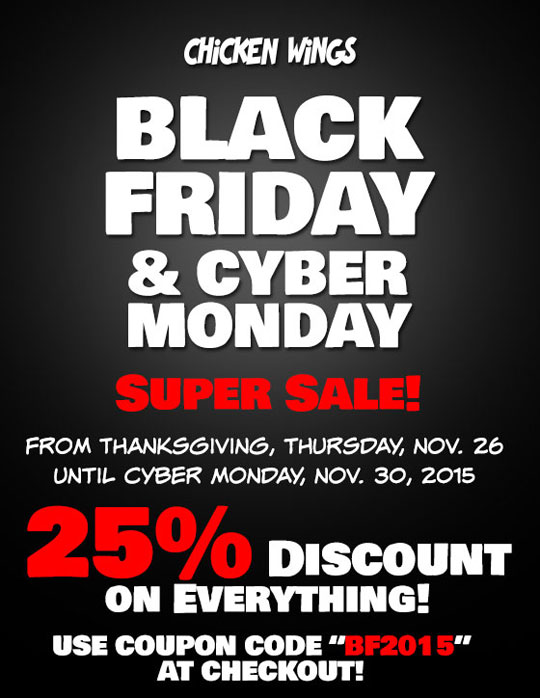 Black Friday & Cyber Monday 2015