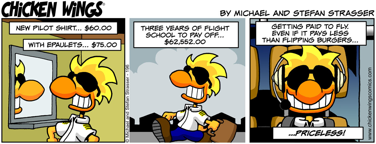 Getting paid to fly