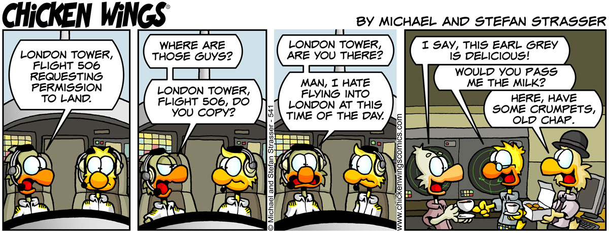 London tower, are you there?