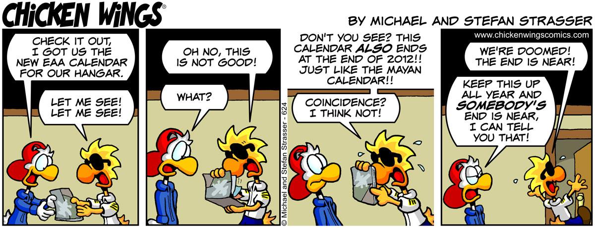 New EAA calendar