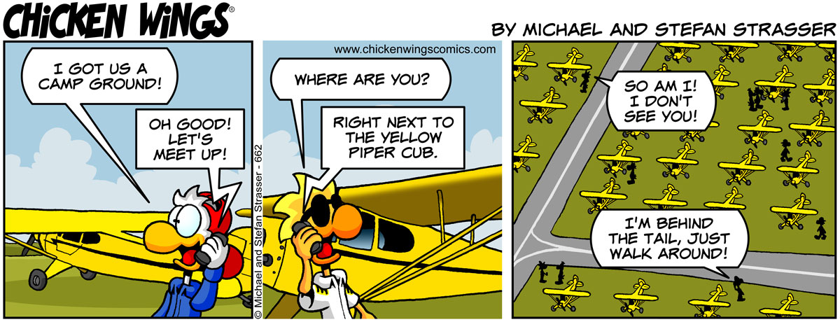 Yellow Piper Cub
