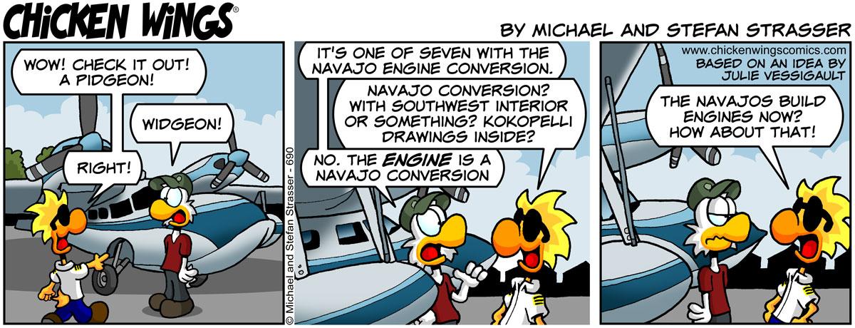 Navajo conversion