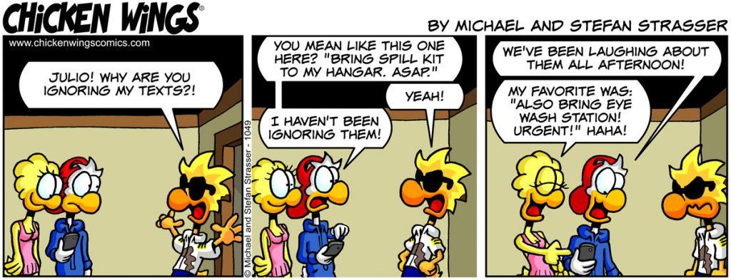 communication – Chicken Wings Comics