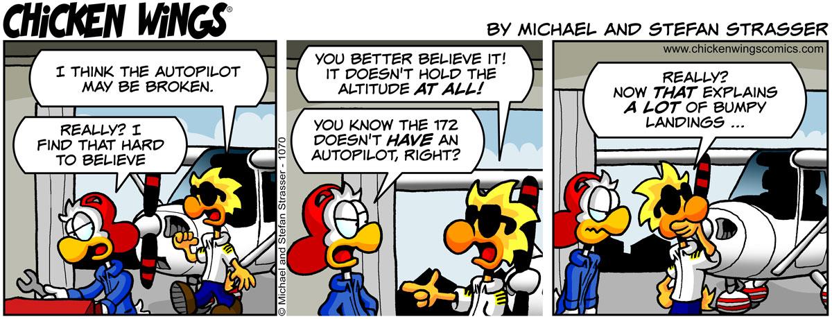 Broken autopilot