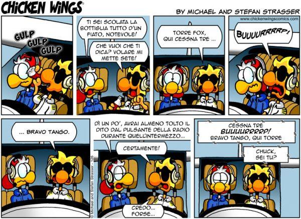 Chicken Wings 3 - Pensa In Grande - ITALIANO - Sample Comic