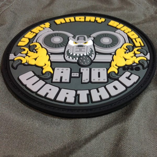 """""""Very Angry Birds"""" A-10 Thunderbolt Patch"""