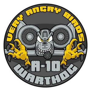 """Very Angry Birds"" A-10 Thunderbolt Patch"
