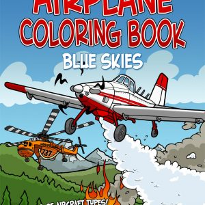 "Chicken Wings Coloring Book ""Blue Skies"""