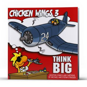 Chicken Wings 3 - Think Big Cover