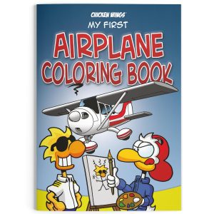 "Chicken Wings ""My First Airplane Coloring Book"""
