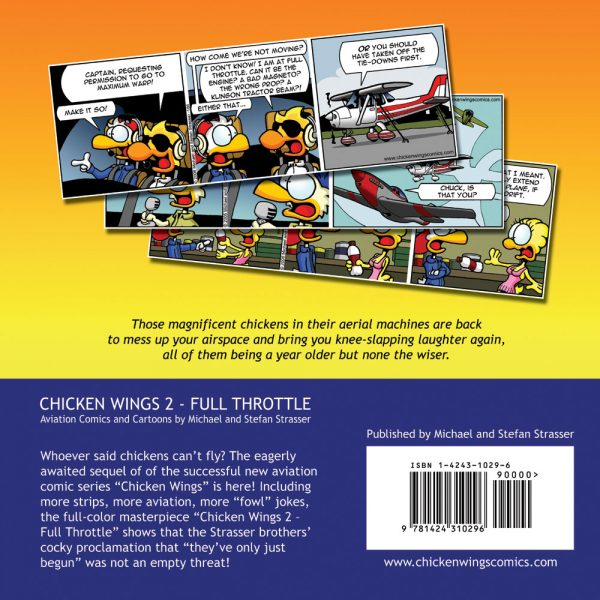 Chicken Wings 2 - Full Throttle - Backcover