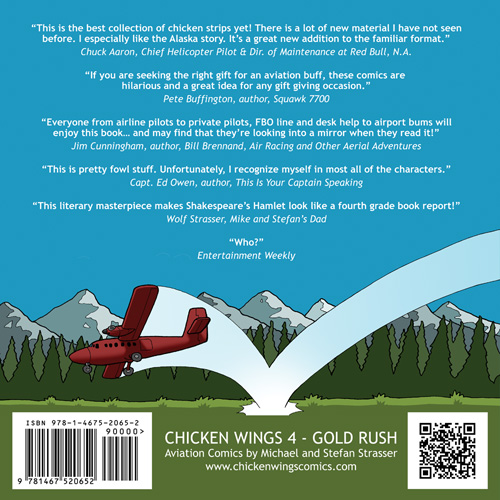Chicken Wings 4 - Gold Rush Backcover