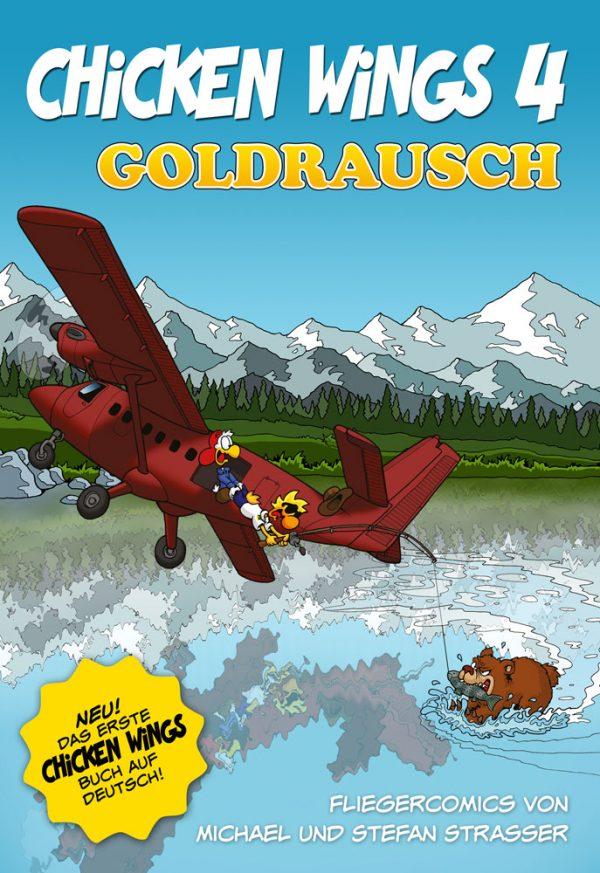 Chicken Wings 4 - Goldrausch (DEUTSCH) Cover