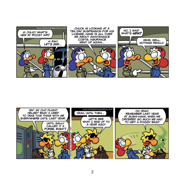 Chicken Wings 4 - Gold Rush Page 2 Sample