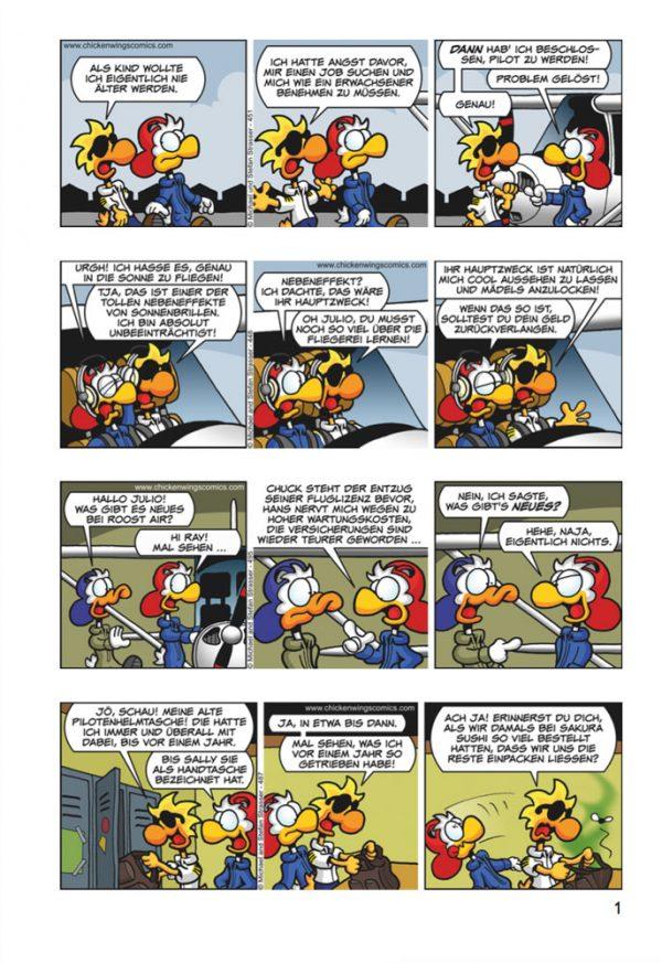 Chicken Wings 4 - Goldrausch (DEUTSCH) Seite 1 Sample