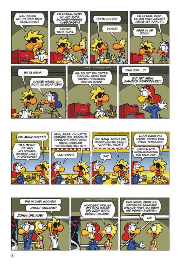 Chicken Wings 4 - Goldrausch (DEUTSCH) Seite 2 Sample