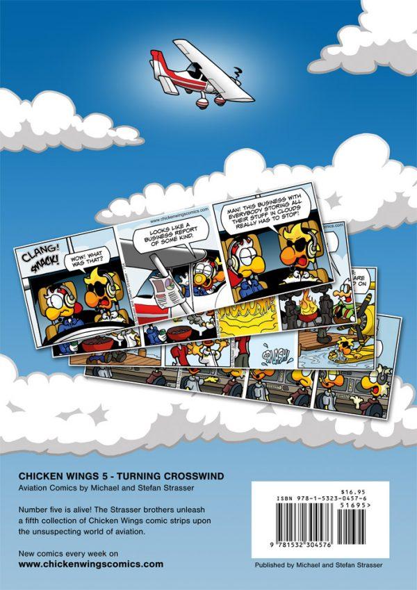 Chicken Wings 5 - Turning Crosswind Backcover