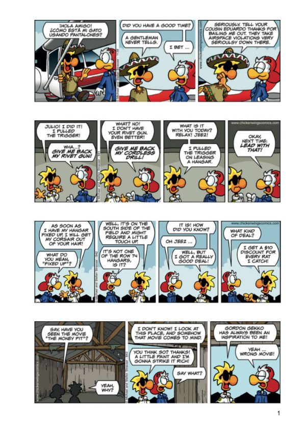 Chicken Wings 6 - Check Your Six Page 1 Sample