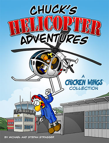Chicken Wings - Chuck's Helicopter Adventures Cover