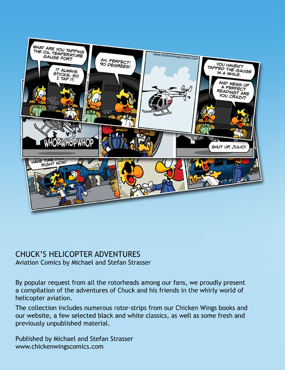 Chicken Wings - Chuck's Helicopter Adventures Backcover