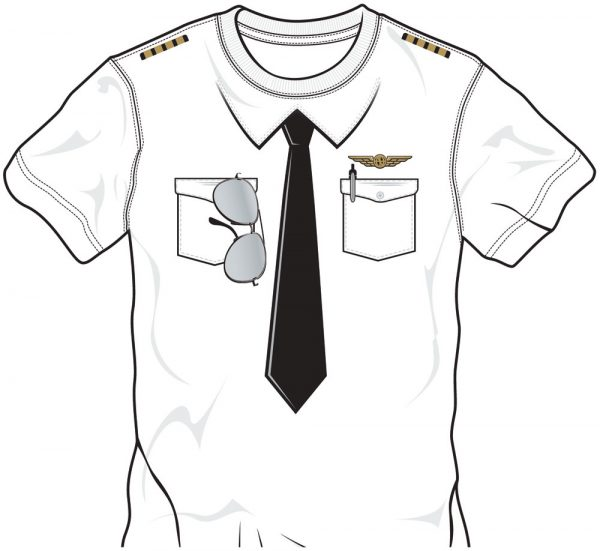 "T-Shirt ""Pilot Uniform"""