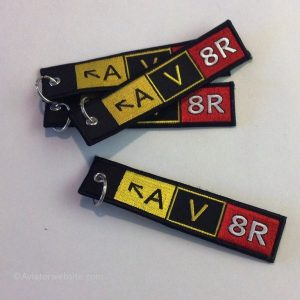 """Key Chain """"A V 8R"""""""