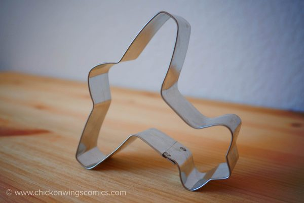 Sally's Airplane Cookie Cutter