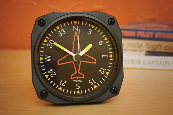 Desk Alarm Clock, Directional Gyro