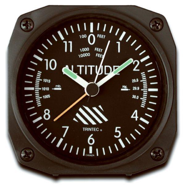Desk Alarm Clock, Altimeter