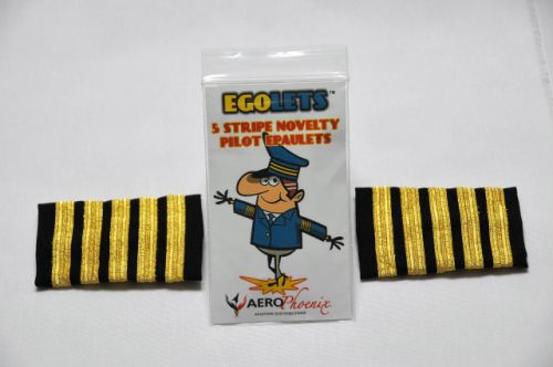 EGOLETS, 5 Stripe Gag Epaulets